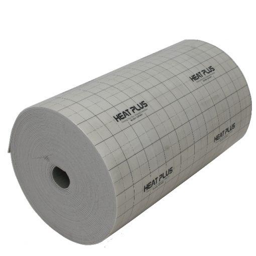 Izoliacinė medžiaga IM-050, naudojama grindinio šildymo montavime