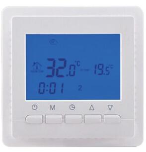 Termostatas BHT-306-GBGW grindinio šildymo valdymui