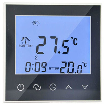 Termostatas BHT-321-GBGW grindinio šildymo valdymui