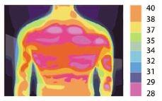 Žmogaus kūnas spinduliuoja infraraudonus spindulius