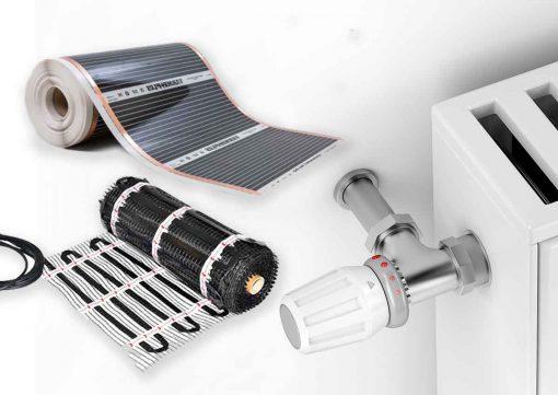 grindinis sildymas ar radiatoriai